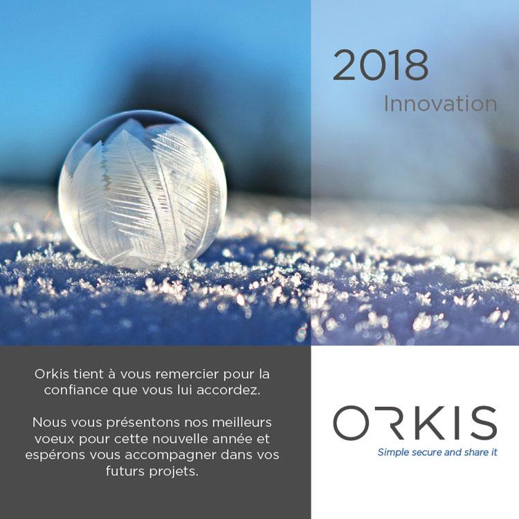 orkis, bonne année, 2018