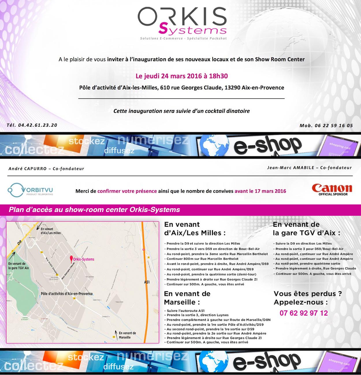 Invitation Inauguration OSV3